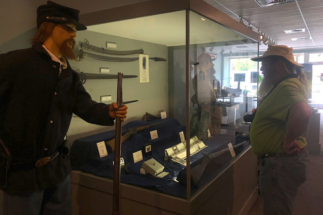 Civil War Display