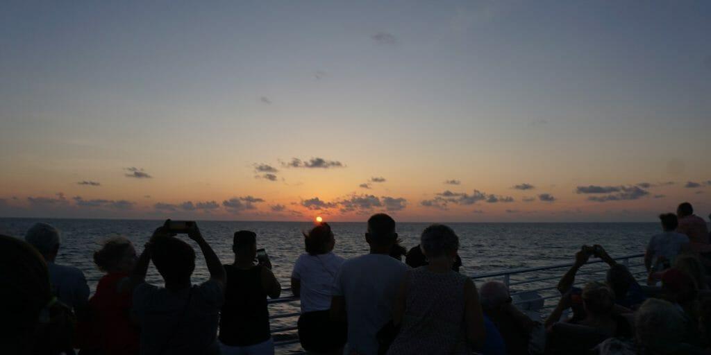 Key West Express sunset