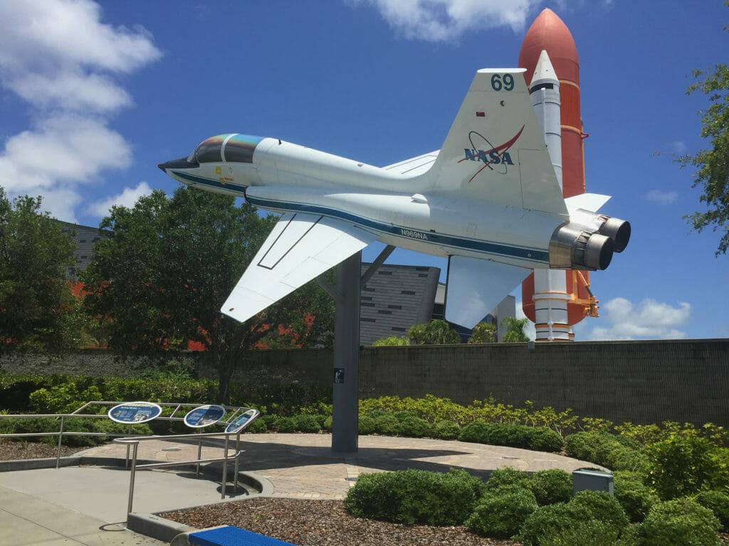 NASA jet KSC