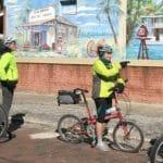 Biking on the Bartram Adventure Tour