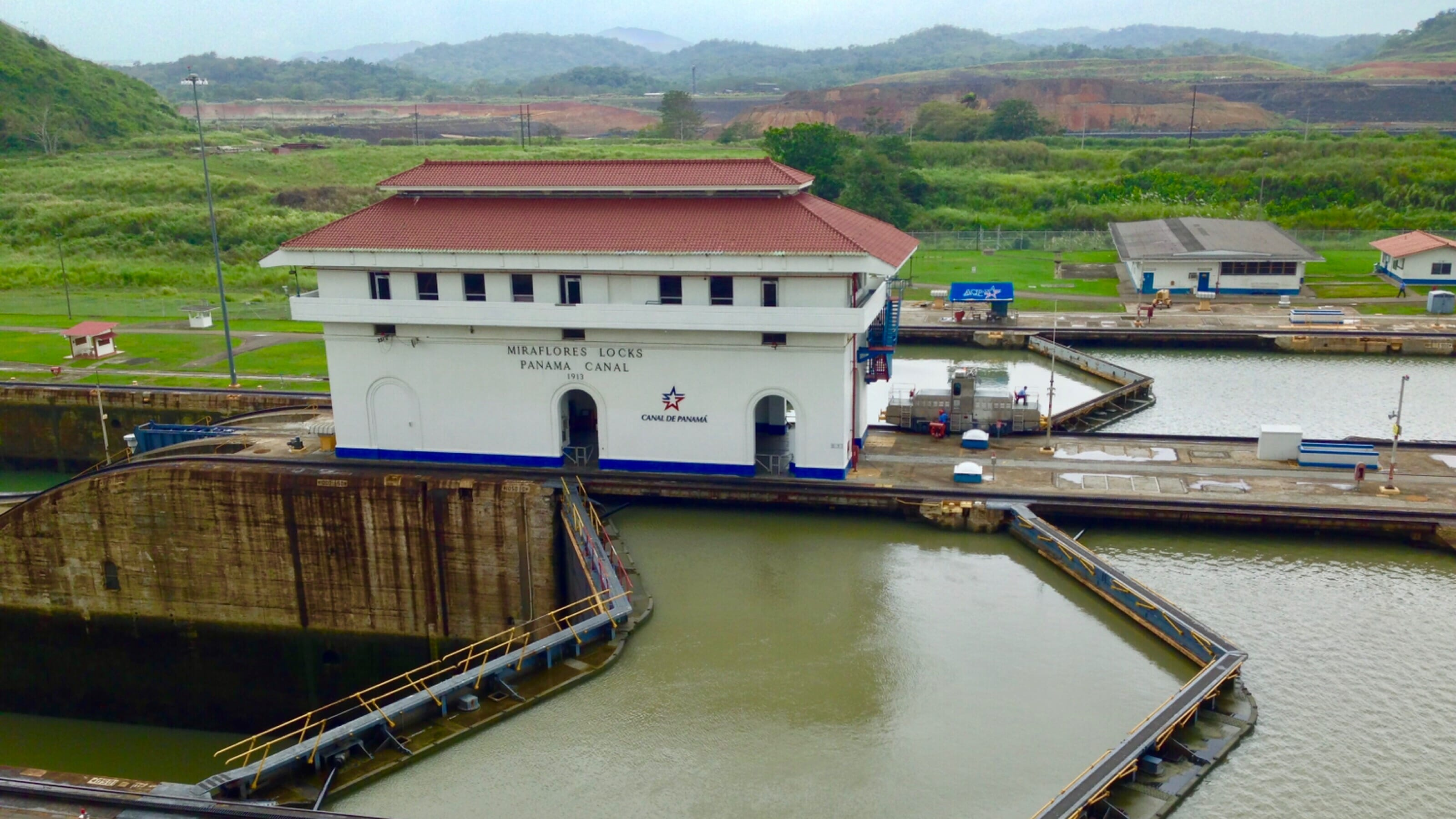 Miraflores Lock, Panama