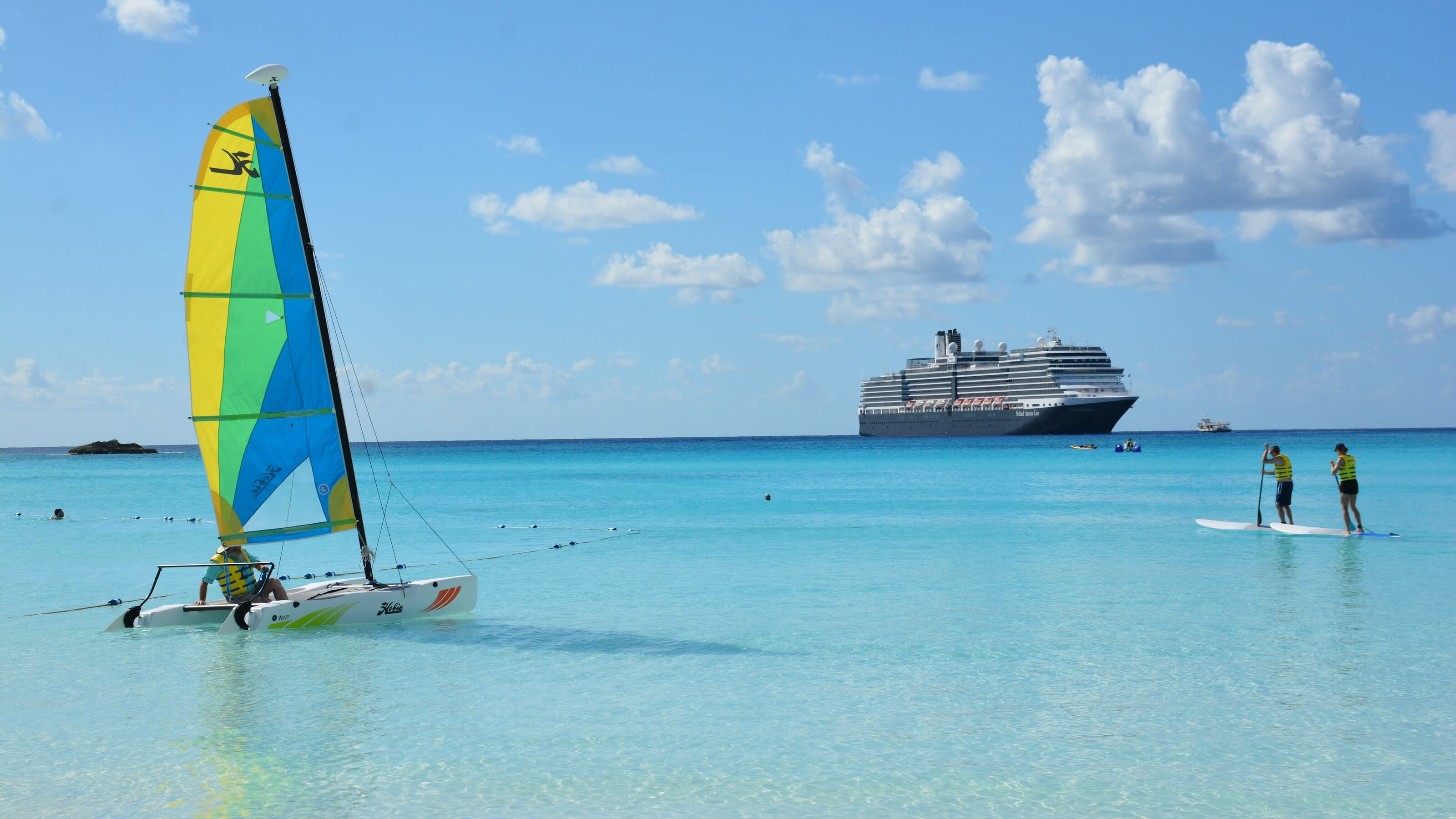 Water sports at Half Moon Cay