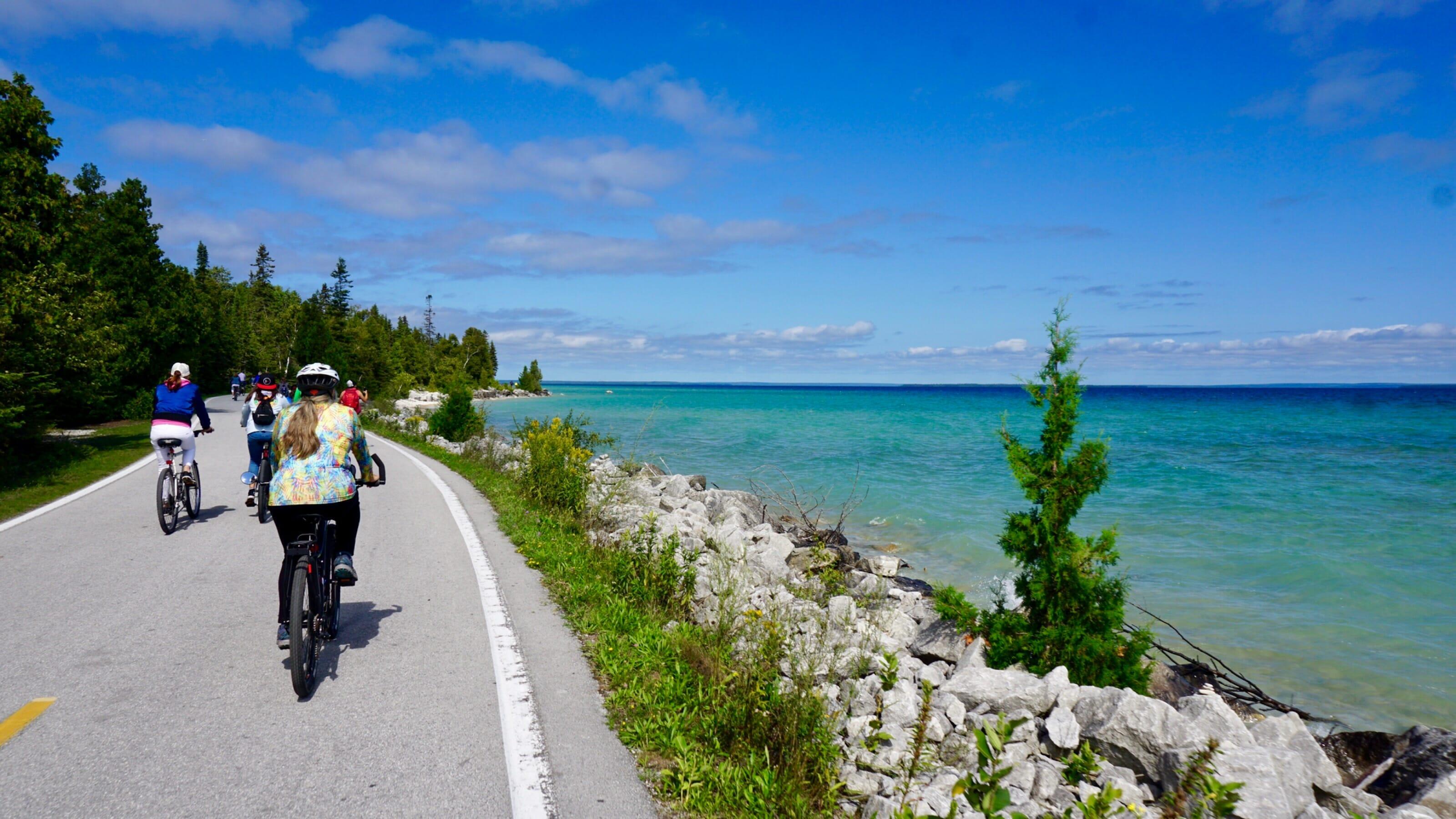 Biking Mackinac Island