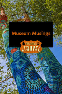 Yarnbombing Long Island Museum