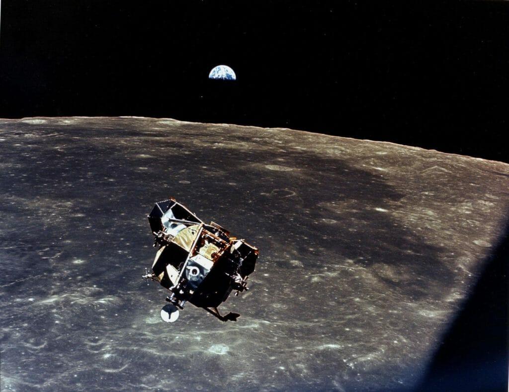 Apollo 11 Lunar Rendezvous NASA