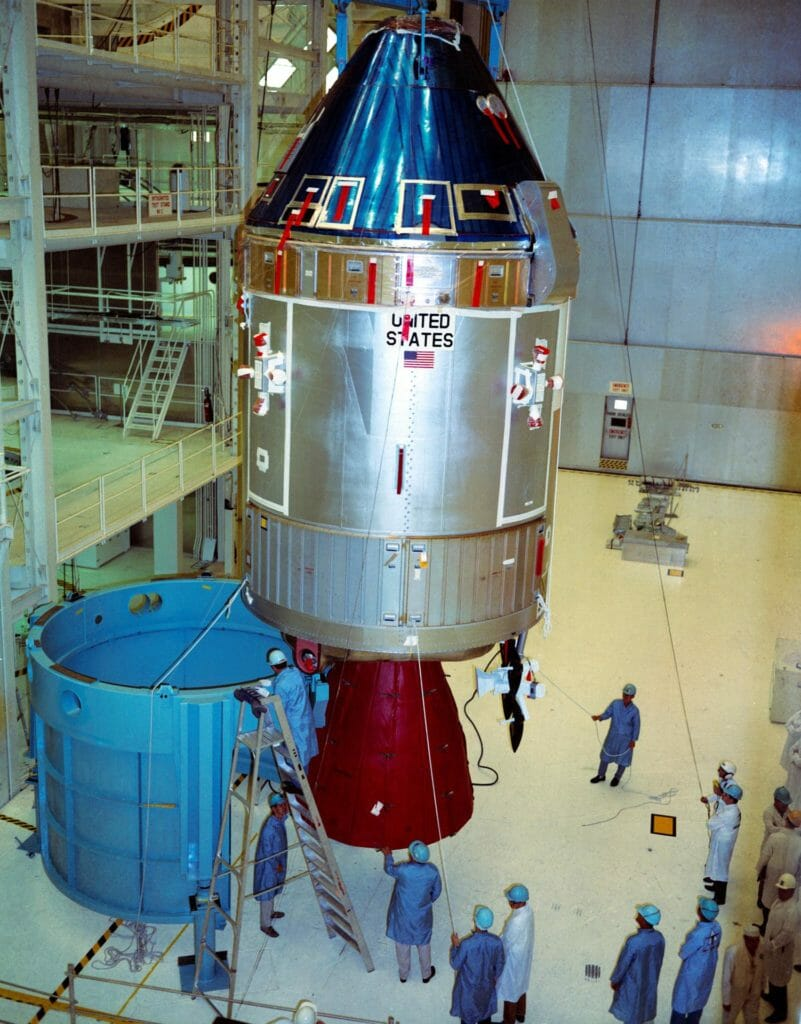 Apollo 11 assembly