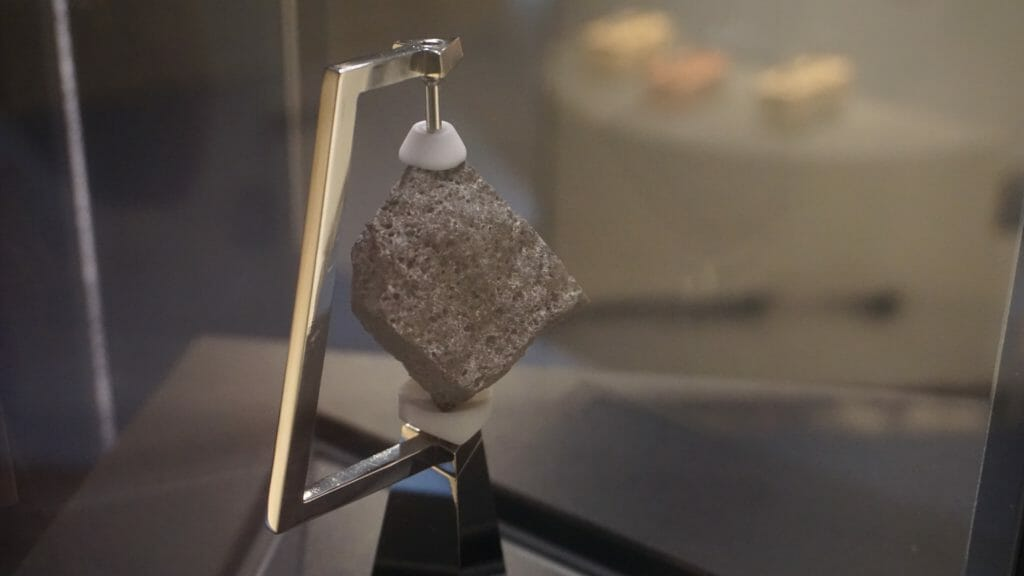 Apollo 11 moon rock