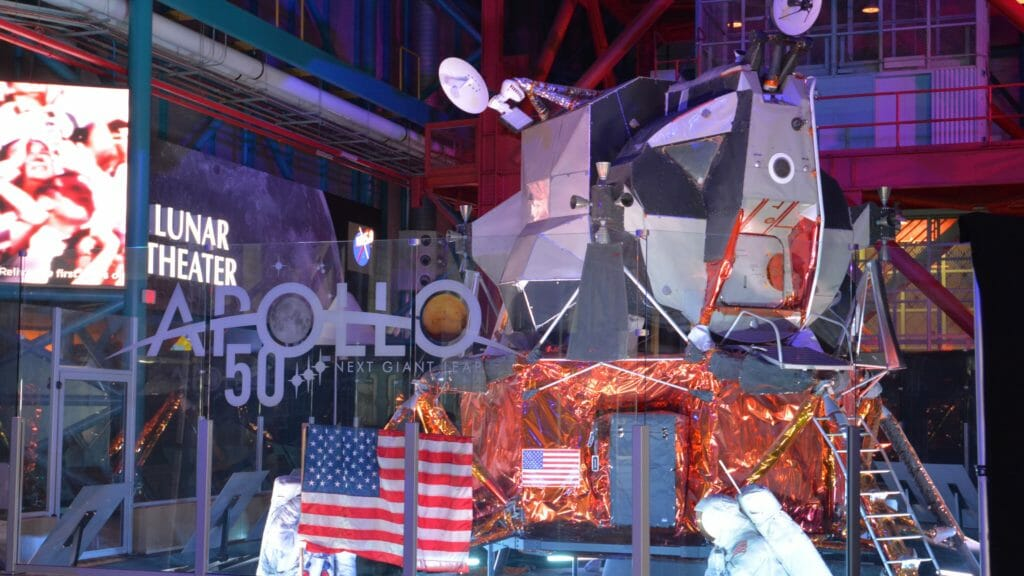 Apollo 50 exhibit LM