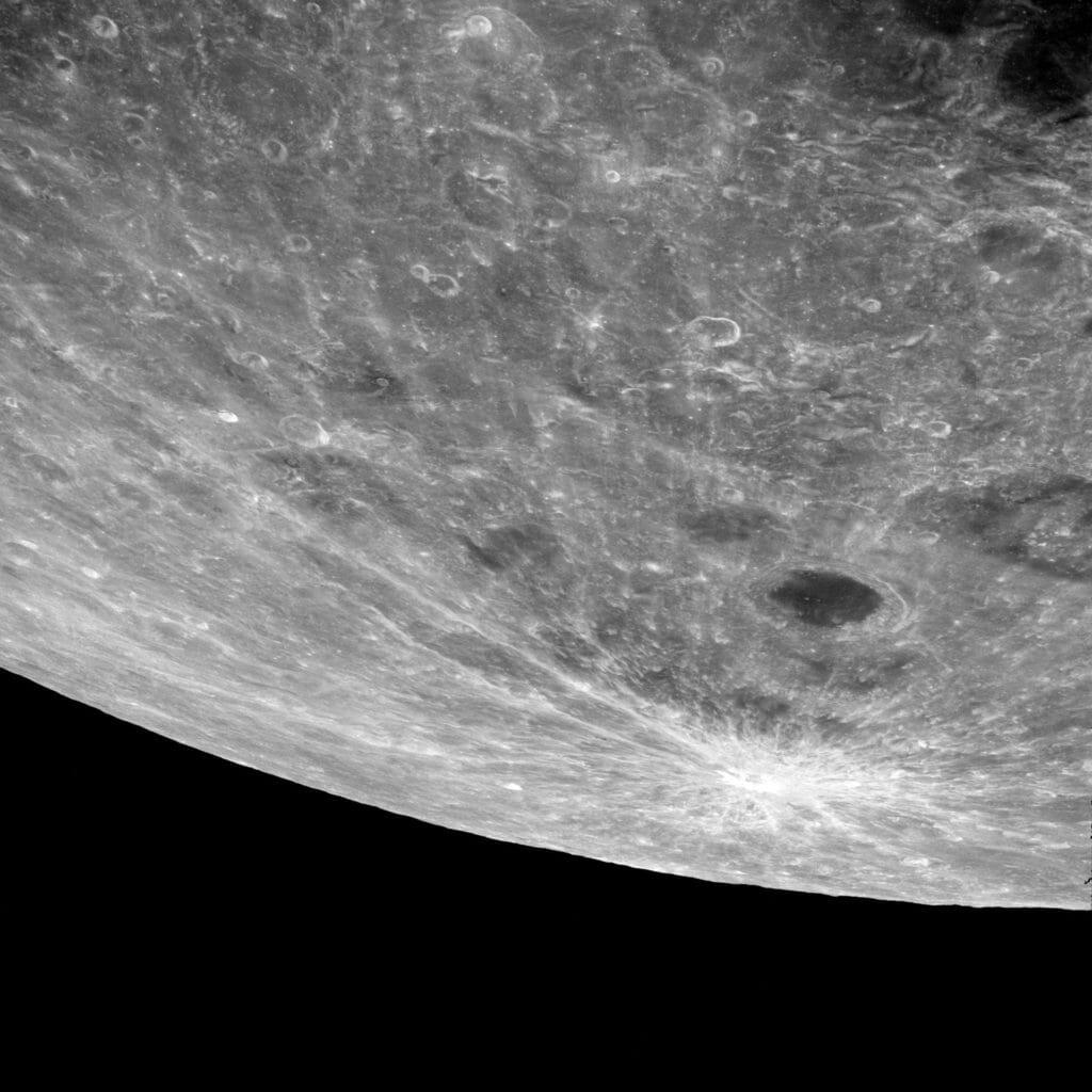 Apollo 8 moon NASA