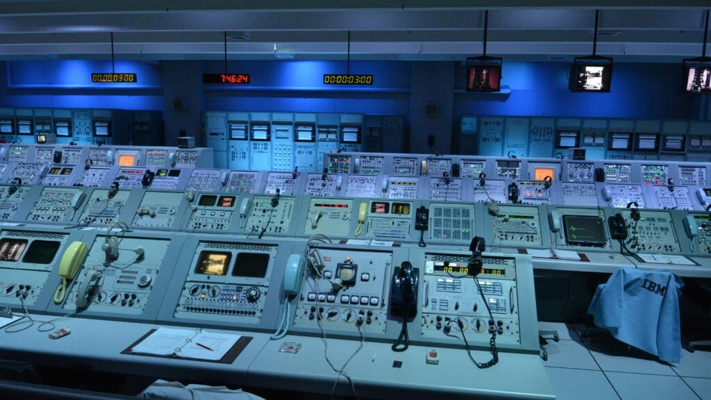 Firing room at Apollo Saturn V Center