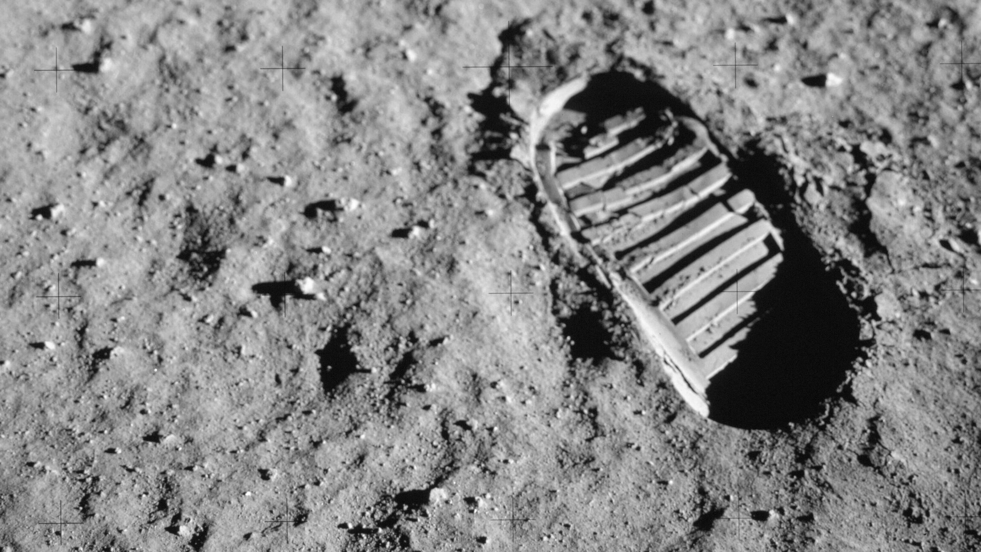 First footprints on the moon Apollo 11 NASA