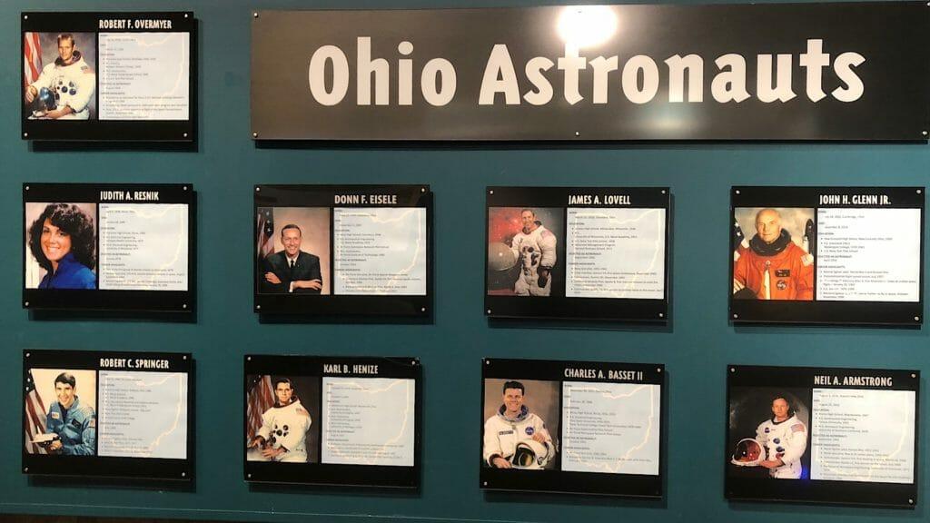 Ohio astronauts