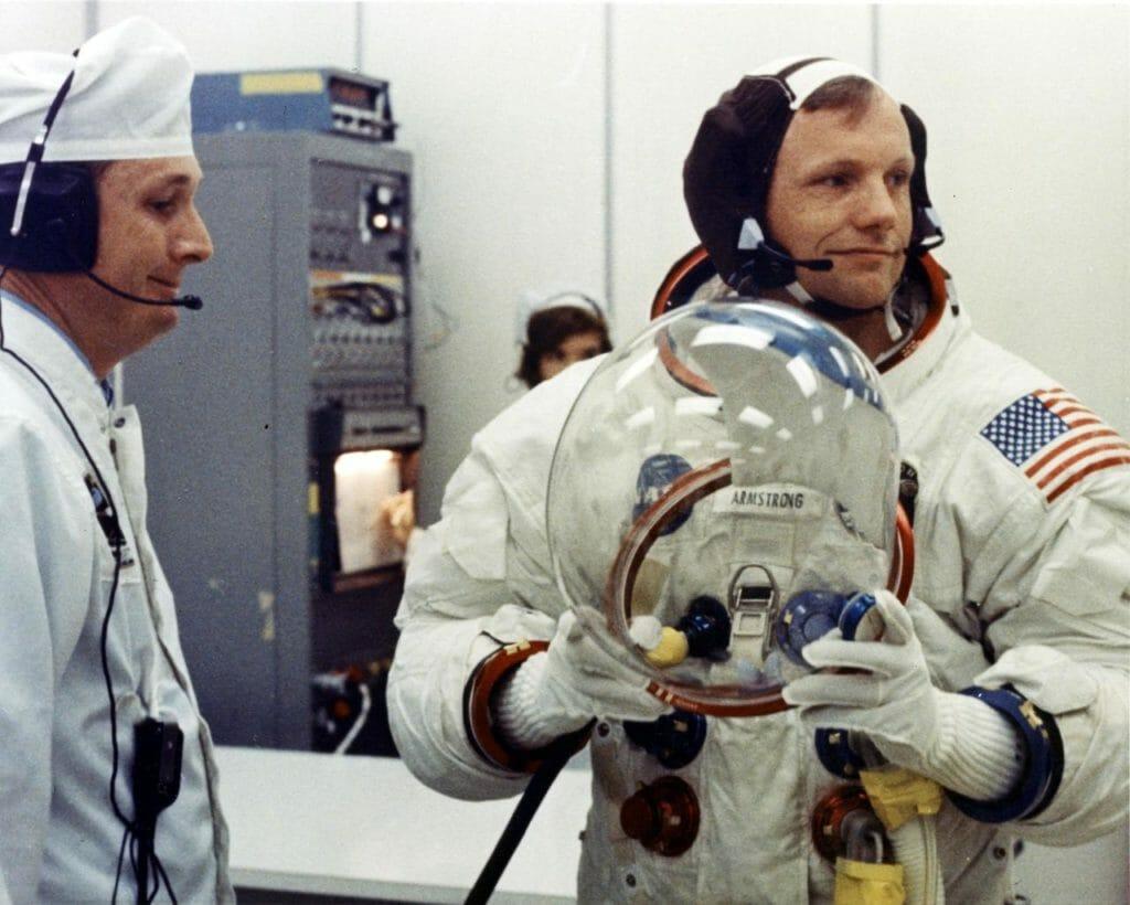 Neil Armstrong Apollo 11 commander NASA