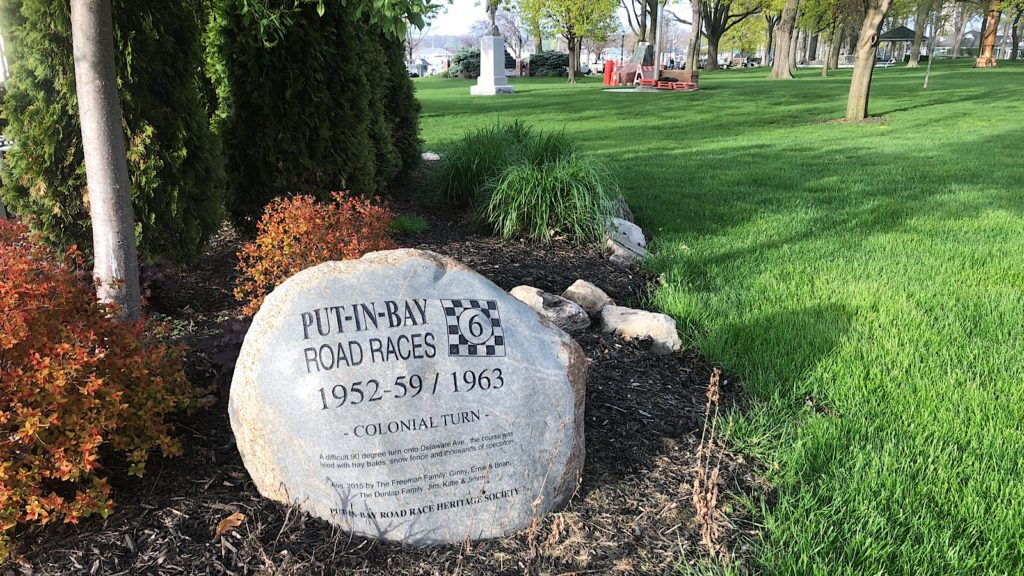 Put-In-Bay Road Races memorial