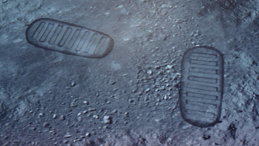 Steps on the Moon