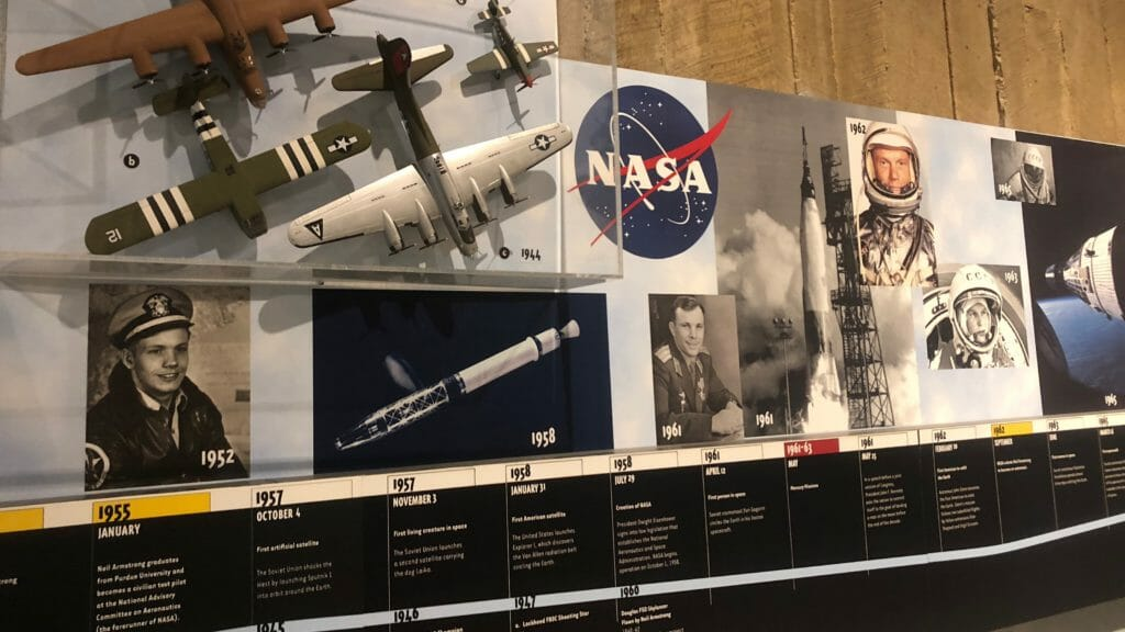 Timeline of Neil Armstrong career