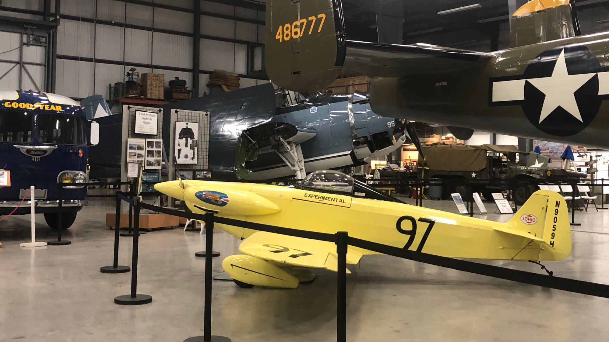 Touring Liberty Aviation Museum