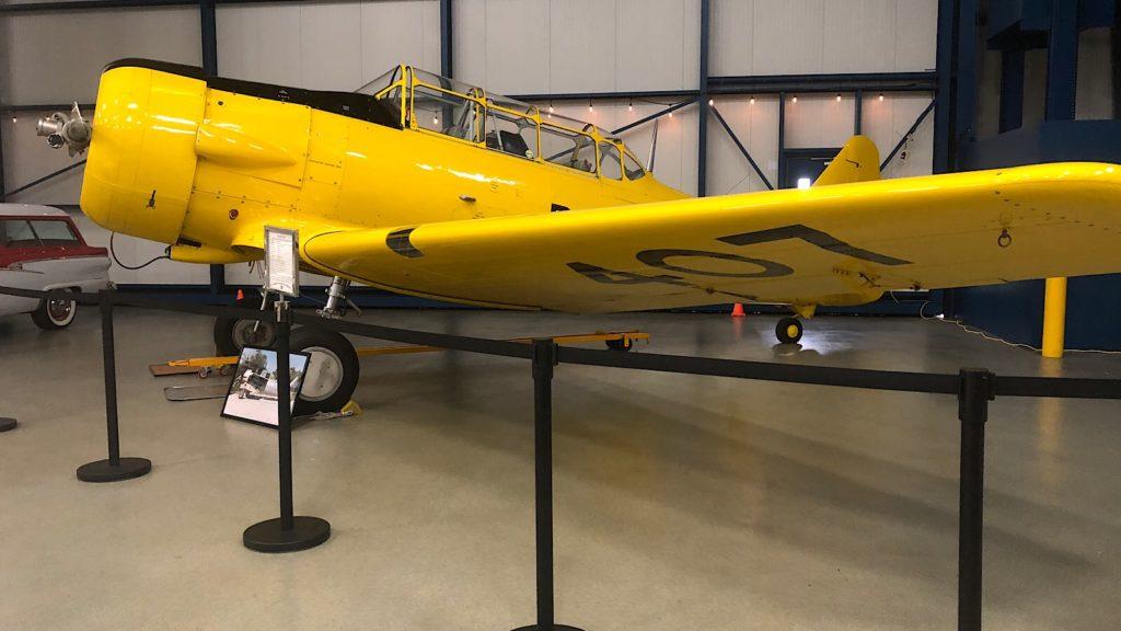T6J WWII pilot trainer
