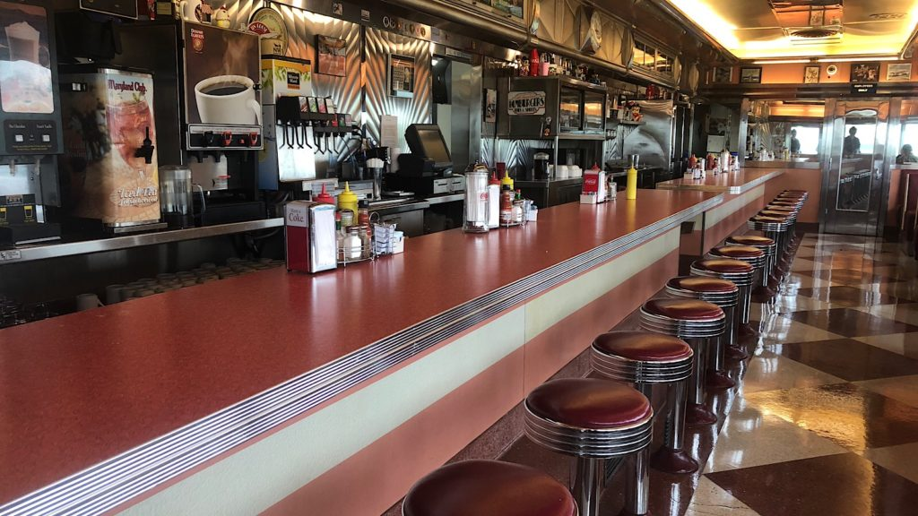 Counter Tin Goose Diner